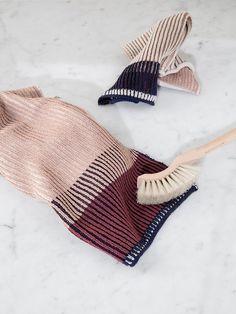 Akin Knitted Dish Cloth - Rose 2