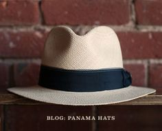We love this Panama hat. It is a perfect gift for any man.| Fedoras | Cloches | Goorin Bros. Hat Shop. Established 1895. | Goorin Bros. Hat Shop