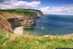 The cliffs at Boulby are epic