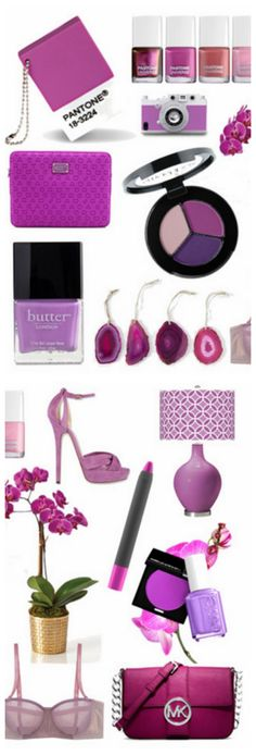 The Pantone Color of 2014: Radiant Orchid