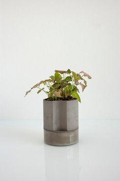 Chromo : Self-Watering Planter - small, brown - Light + Ladder