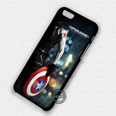 Winter Soldier Captain America Superheroes - iPhone 7 6 5 SE Cases & Covers