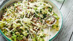 Creamy chicken avocado salad paleo recipe