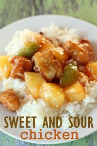 One of the best and easiest Sweet and Sour Chicken recipes.