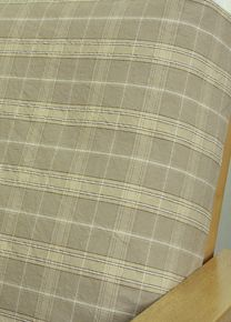 Sand Beige Plaid Fabric Is Traditionally Styled Medium Scaled Woven Pattern In A Great Color Futon Coverscustom Slipcoversslipcovers