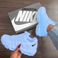 25 Women Shoes For Teens Nike Shoes blue nike sneakers Nike Shoes Blue, Nike Air Shoes, Blue Nike, Purple Sneakers, Baby Blue Shoes, Nike Shoes Outfits, Adidas Outfit, Nike Air Max, Jordan Shoes Girls