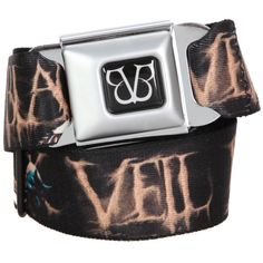 Belts / Buckles | Accessories ($20) ❤ liked on Polyvore featuring accessories, belts, black veil brides, bvb, jewelry, black buckle belt, buckle belt, bridal belt, black bridal belt and black belt
