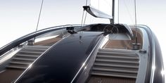 Massimo 55 iS is a mega yacht concept based on a computer controlled surface, which allows the owner to modify and organize the deck space according to his preference and needs. The unique characteristic of the surface of Massimo 55 iS is its flexible ru…