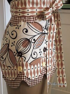 dolly's designs: Mod Seed Pod Apron