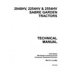 john deere 2020 tractor technical manual tm 1044 pdf john deere john deere 2048hv 2254hv 2554hv sabre garden tractors technical manual tm 1741