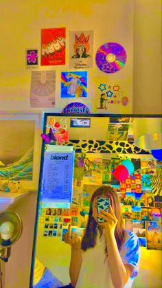 Cute Room Ideas, Cute Room Decor, My New Room, My Room, Indie Bedroom, Neon Bedroom, Indie Kids, Grunge Room, Room Ideas Bedroom