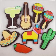 Cinco de mayo cookies Repinned By:#TheCookieCutterCompany