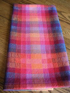 Hand Woven Guest Towel, Kitchen Towel Handwoven, Hand Loomed Dish Towel, Woven  Tea Towel, Fiesta Rainbow, Certified Organic Cotlin Towel