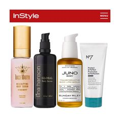 """Global Body Serum featured on @instylemagazine """"Lina Hanson Global Body Serum comes out on top in the best all-around category. Aside from the addicting scent, the all-natural ingredients are gentle enough for even the most sensitive skin-types."""""""