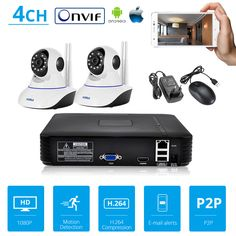 All things tech and more at great prices, with Free delivery worldwide. 4 Channel, Surveillance System, Ip Camera, Hd Video, Bluetooth Gadgets, Bluetooth Speakers, Electronics Gadgets, Wifi, Free Shipping