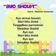 Ayo Sholat (original song Matahari Terbenam) Islam For Kids, Anime Muslim, Original Song, Kids Songs, Allah, Activities For Kids, Singing, Islamic, Education
