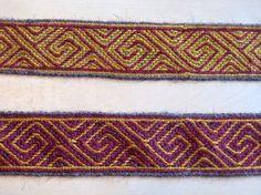 Experiments in tablet weaving - blog. Nice work!