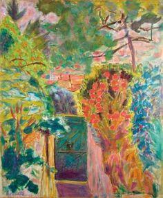 La Porte de la villa du Bosquet, Pierre Bonnard, 1944 More