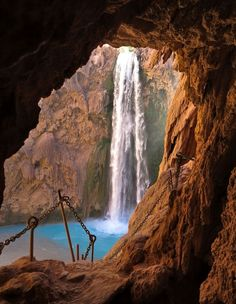 Mooney Tunnel, Havasu Creek, Grand Canyon, Arizona