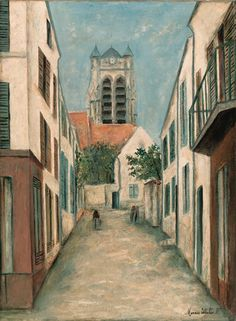 Maurice Utrillo, Eglise de la Ferté-Millon