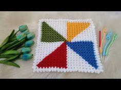 Blanket, Crochet, Youtube, Tejidos, Crochet Hooks, Blankets, Crocheting, Carpet, Thread Crochet