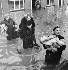 Before the Deltaworks: An incredible and disastrous flood in Zeeland happened when the dikes broke in1953.