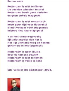 Jules Deelder Rotterdam