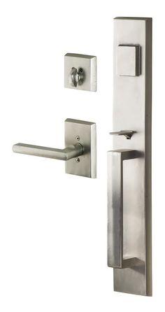 Sure-Loc Vail Rustic Series Entry Handleset Exterior Door Hardware, Front Door Hardware, Exterior Doors, Entry Doors, Door Knobs, Door Handles, Door Handle Sets, Cool Doors, Rustic Style