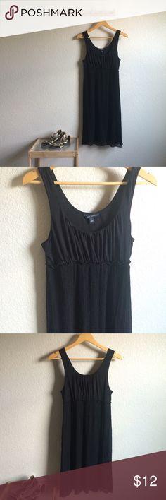 "Chiffon Tank Dress gently worn, no flaws Length 38"" Bust flat 15"" 87% modal/13% viscose//100% silk Banana Republic Dresses"