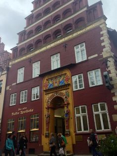 Lüneburg Architektur alte Apotheke - old pharmacy in Lueneburg, Germany #architecture