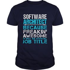 SOFTWARE ARCHITECT T-Shirts, Hoodies. BUY IT NOW ==► https://www.sunfrog.com/LifeStyle/SOFTWARE-ARCHITECT-111478942-Navy-Blue-Guys.html?id=41382