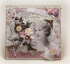 Vintage card by Ineke Bezemer