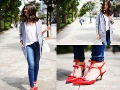 Bimba&Lola Coat, Uterque Shoes