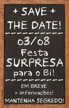 Criadora de Festas: Festa Adulto { Boteco } Save Date, Holidays And Events, It's Your Birthday, Special Day, Wedding Day, Dating, Scrapbook, How To Plan, Party
