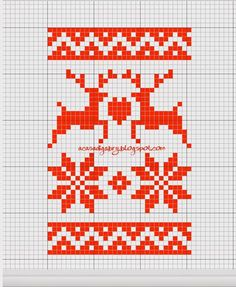 Discover thousands of images about Scandinavian Christmas cross stitch charts Cross Stitch Cards, Cross Stitch Borders, Cross Stitching, Cross Stitch Embroidery, Cross Stitch Patterns, Christmas Knitting Patterns, Christmas Embroidery, Knitted Christmas Stockings, Pixel Pattern