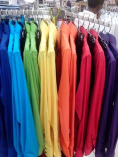 Rainbow Shirt :) cute...