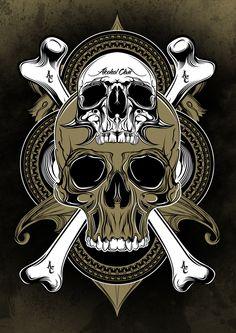 skull and bones by halagabor.deviantart.com on @deviantART