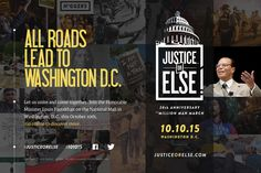 Justice Or Else, Million Man March 2015 Anniversary Promo Video  Well Done!  The time has come. 10/10/2015 www.WeAreOne.cc
