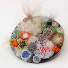 Large mouldy madness brooch by ELIN by elinart on Etsy, £56.00