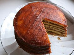 Kentucky Stack Cake Recipe - My Mother-In-Law Waltine was famous for her Stack Cake...She made one every Thanksgiving.