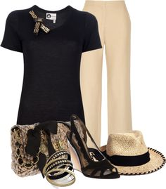 """Lanvin & Valentino"" by flowerchild805 ❤ liked on Polyvore"