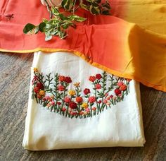 Call/whatsapp 9035330901 to customised hand embroidery materials