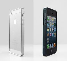 AL13 silver and black iPhone cases