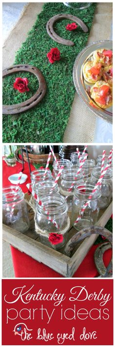 Easy DIY for a Kentucky Derby Party! theblueeyeddove.com #diy #parties #kentuckyderby #partyideas