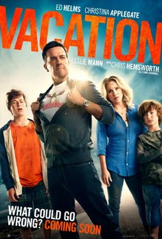"Vacation (2015) ... Rusty Griswold takes his own family on a road trip to ""Walley World"" in order to spice things up with his wife and reconnect with his sons. (31-Dec-2015)"