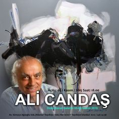 Ali Candaş'ın Doku Sanat Galerisi 5-25 Kasım Tarihleri Arasında Açılıyor