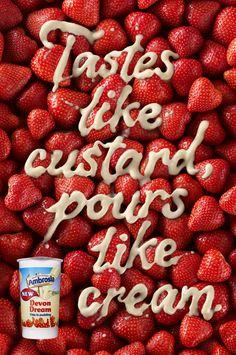 AMBROSIA DEVON DREAM • Ad Campaign by S E A N   F R E E M A N • T H E R E   I S, via Behance