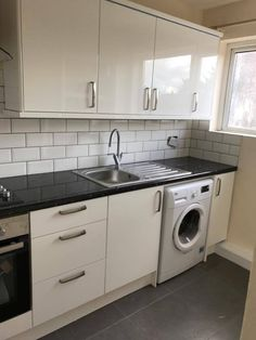 A picture is worth a thousand words… – L & E Richmond Property Services Washing Machine, Kitchen Cabinets, Home Appliances, House Appliances, Cabinets, Appliances, Dressers, Kitchen Cupboards