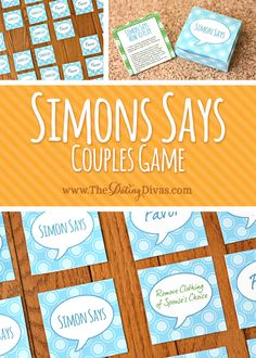 Let Simon dictate your night of intimacy. Play a sassy game of Simon Says.  www.TheDatingDivas.com #intimatemoments #intimacy #bedroomgames
