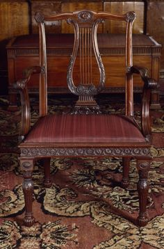 Beautifully Designed Chair  By Thomas Chippendale & Son